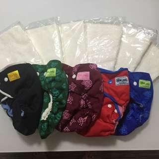 Bumwear diaper cloth