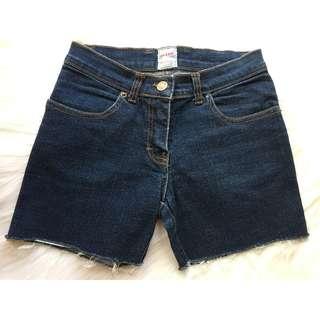 Sass & Bide Cut Off Denim Shorts.Size:6