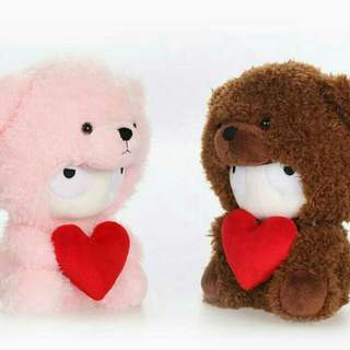 1 lot of 3x Xiaomi Bears for Valentine