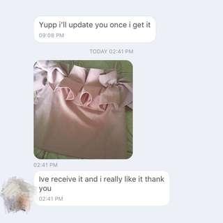 Customer feedback ❤️