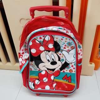 Trolley School Bag Minnie disney