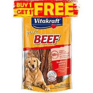Vitakraft Pure Beef / Duck / Lamb / Chicken Duo 80g $8 (Buy one get one free) or $4 a pack
