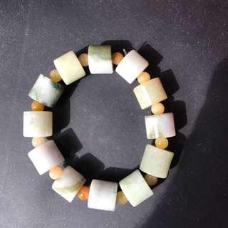 A stone bracelet