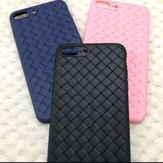 [9折] iPhone 7/8+ BV織紋電話殼 BV Textured Pattern Phone Case