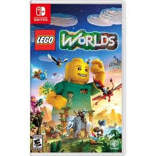 NINTENDO SWITCH BRAND NEW LEGO WORLD