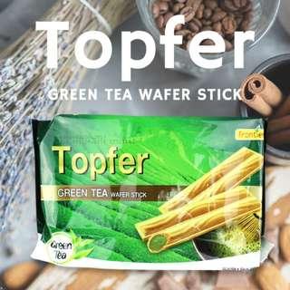 馬來西亞 汎達 抹茶威化捲心酥 100g