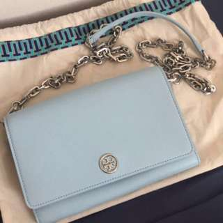 tory burch wallet on chain woc