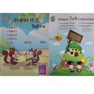 Primary 5 & 6 chinese and english compositions