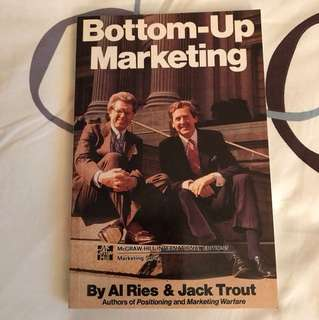 Bottom-up Marketing by Al Ries & Jack Trout