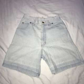 Size 6 Vintage Denim Shorts