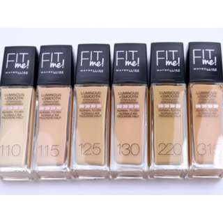 Maybelline Fit Me! Foundation 30ml