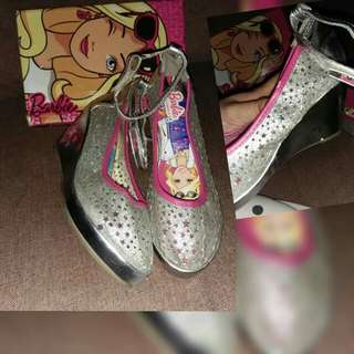 Barbie silver wedge size:1(32)