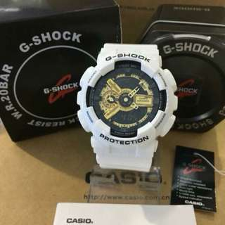 GSHOCK WHITE WATCH