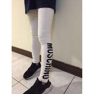 MOSCHINO白色運動褲(女孩)