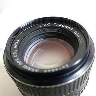 Pentax smc takumar 50mm f1.4 m42 mount