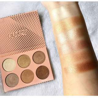(RESERVE NOW) COLOURPOP NEW IN IN-NUDE-ENDO HIGHLIGHTER PALETTE PO