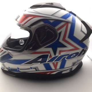 Airoh T600 Street Red Gloss Helmet XL