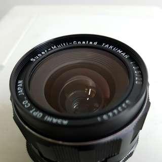 Pentax m42 28mm f3.5 screw mount