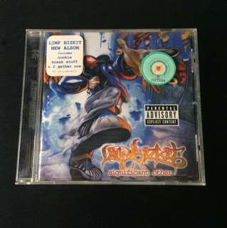 LIMP BIZKIT, 'Significant Other' Album / Music Disc