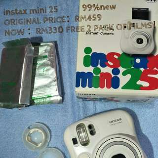 Instax Mini 25 99%new