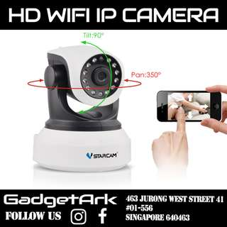 Vstarcam IP Camera Pan / Tilt / Zoom Wireless IP Indoor Security Surveillance System 1080p HD Night Vision, Remote Monitor with iOS, Android App - Cloud Service Available