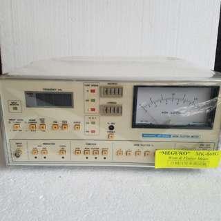 Meguro Mk668G Wow and Flutter meter 音頻抖晃儀 全新有盒 Crazy offer : $800