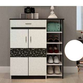Shoe Cabinet with Drawer