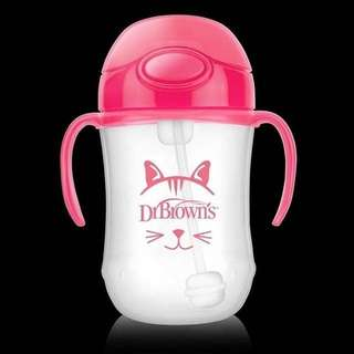 ( Second ) Dr Browns Baby First Straw Cup