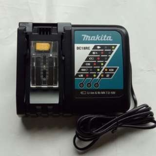 Brand New Makita Lithium-ion Battery Charger: DC18RC