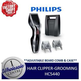 PHILIPS HC5440 HAIR CLIPPER