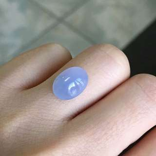 天然A貨冰紫蛋面裸石