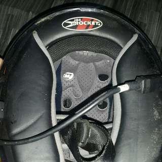 Helmet fullface carbon fiber