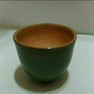 清末民初青瓷小茶杯