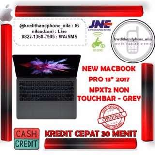 """Apple New Macbook Pro 2017 MPXT2 13"""" Grey - Cash & Kredit Tanpa CC"""