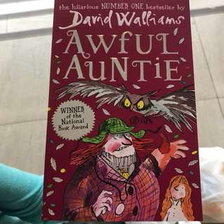 Awful Aunties by David Williams