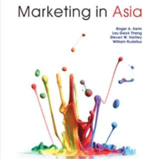 Marketing in Asia MKT1003