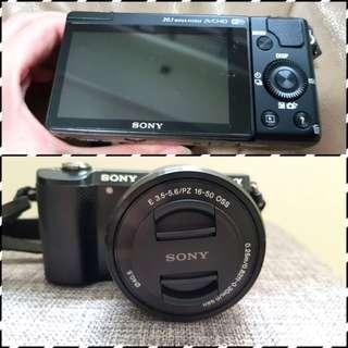 Sony A5000 & lens 55-210