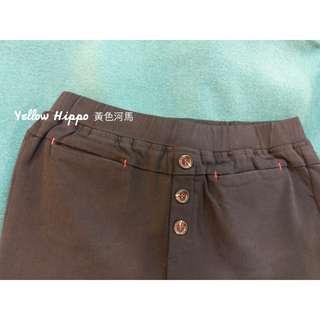 ✈(現貨實拍)百搭No.1__三扣激瘦刷色彈性褲M-XL