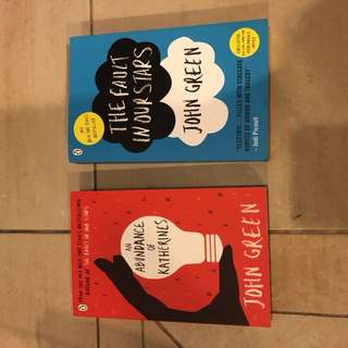 SALE John Green Books
