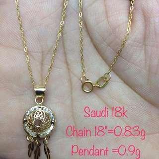 Sd 18k Necklace
