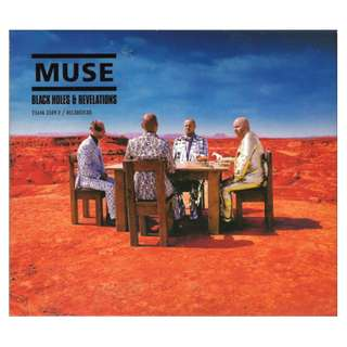 Muse Black Holes & Revelations cd digipak