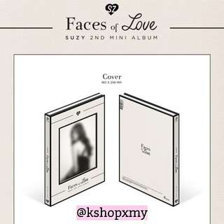 "Suzy 2nd Mini Album - "" Faces Of Love """
