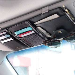 Car organiser / Card holder
