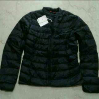 BNWT Uniqlo IDLF Ultra Light Down Jacket Navy Blue