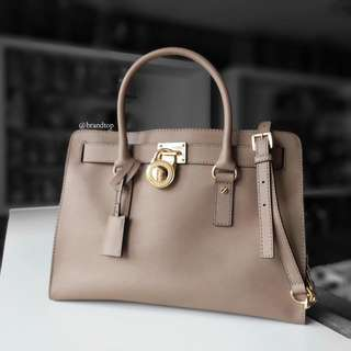 Authentic Michael Kors Hamilton Two Way Tote