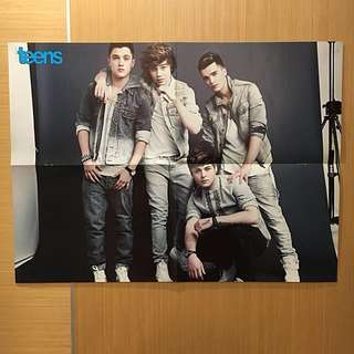 Union J + RS Poster (Double Sided) #15