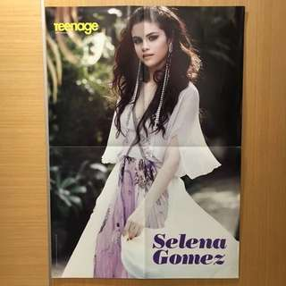 Selena Gomez + B.A.P Poster (Double Sided) #16