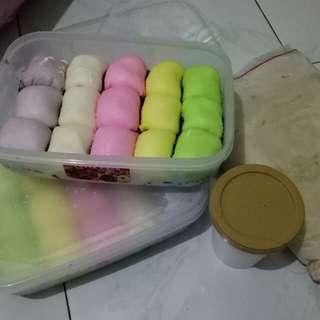 Pancake durian,  durian cup 150gr