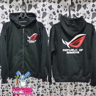 Jaket Zipper Republic Of Gamers