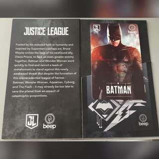 Justice League Beepcard ( Limited Edition)